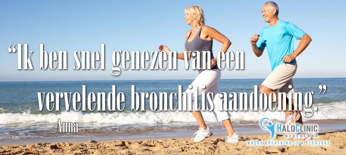 Bronchitis behandelen met halotherapie in de zoutgrot, zoutmijn met medisch gecertificeerd Halogenerator.